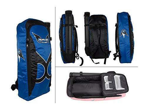 Avalon Tyro RTT-A-SL546-07 Rucksack Bogenrucksack mit Pfeilröhre blau