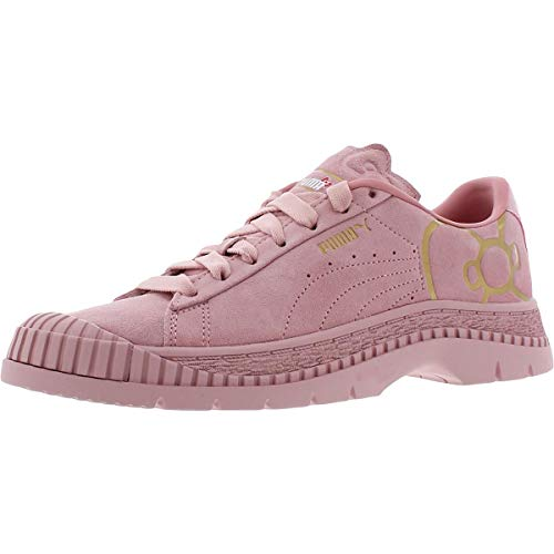 PUMA Womens Utility X Hello Kitty Lace Up Sneakers Shoes Casual - Pink - Size 5.5 B
