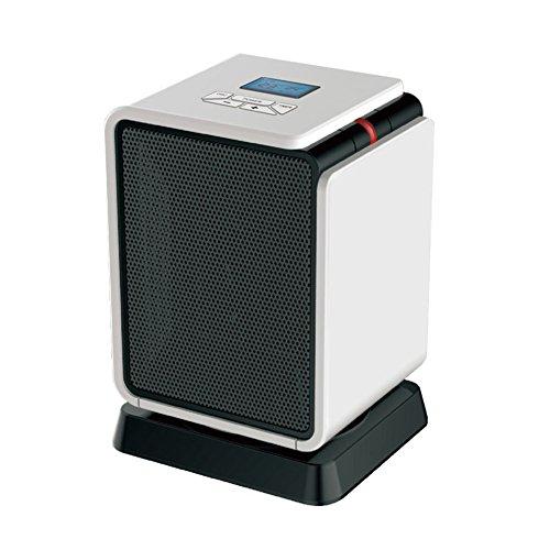 HAIZHEN Radiateur électrique Chauffage Électrique Mini 8 Heures Timing Fièvre Céramique PTC Deux Couleurs Économie d'énergie (Couleur : Rouge)