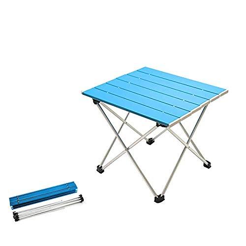 Aluminium Folding Camping Tisch, Roll Up Ultraleicht Tischplatte kommen mit Tragetasche, leichter, langlebiger und stabiler gelten für Picknick, Camping, Wandern, Reisen, Angeln, Strand, Grill usw.