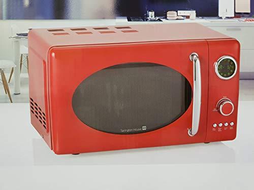 Tarrington House Retro de microondas mwdc 6720Volumen 20Litros. 12programas * Rojo *