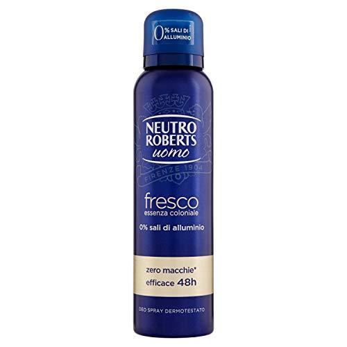Neutro Roberts Deodorante Spray Uomo Coloniale Giallo - 150 ml