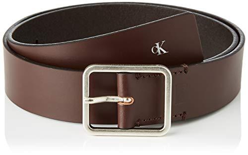 Calvin Klein Ckj Uniform Workman Belt 35mm Cintura, Marrone (Bitter Brown BAP), 7 (Taglia Produttore: 105) Uomo