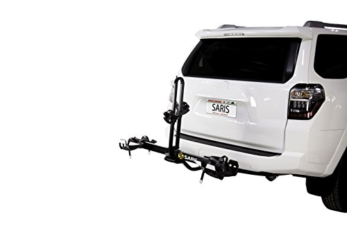 Saris Freedom EX Bike Hitch Car Rack, 2-Bicycle Carrier