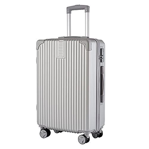 YJKL - Valigia universale per bagagli, trolley e valigia, leggera, con cerniera, universale e impermeabile, 61 cm