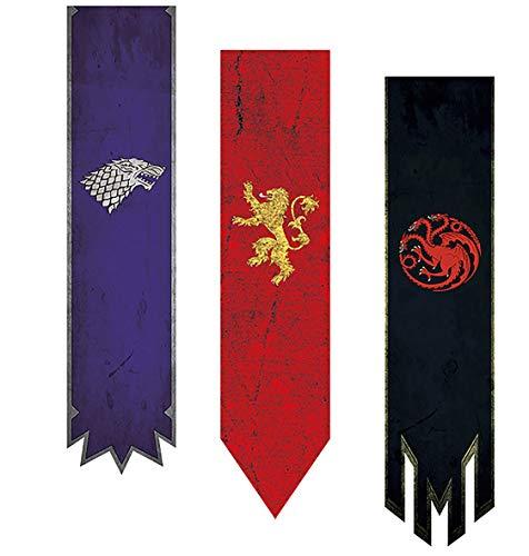 Game of Thrones flag Juego de tronos bandera Canción de hielo y fuego cosplay