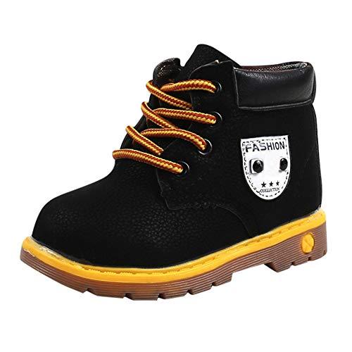 Baby Boots UFODB Winter Warm Mädchen Jungen Sneaker Stiefel Booties Spitze Reitstiefel Schneestiefel Jungen Warme Weiche Winterschuhe Winterstiefel Für Kinder