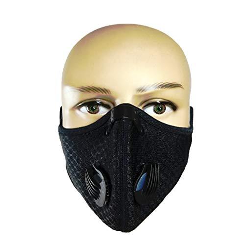LIOOBO Equitación Máscara Carbón Activado Deportes