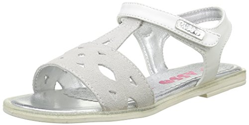 Asso 40741, Sandales Fille, Blanc (White), 36