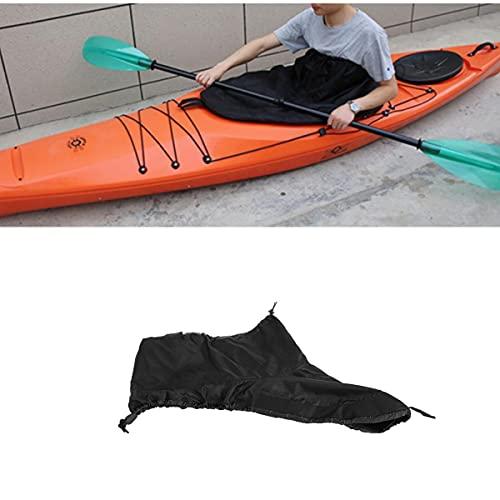 Roberee Kajak Spritzdecke, Universal Verstellbarer Kajak Kayak Boat Spray Skirt,Cockpit Cover wasserdichte Abdeckung Wassersport Kajak Zubehör Nylon für Cabin Canoeing