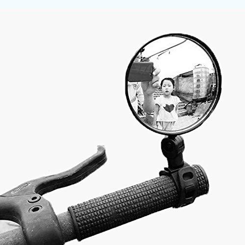 Linghuang - Espejo retrovisor ajustable 360 ° para patinete eléctrico / bicicleta...