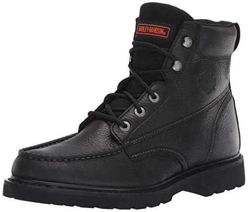 HARLEY-DAVIDSON FOOTWEAR Men's Markston Boot, Black, 12.0 M US