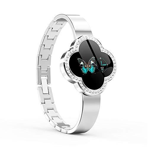 Frauen Smart Watches Fitness Tracker Armband mit Herzfrequenz Blutdruck Schrittzähler Remote Fotografie Schlaf Monitor für Android und Ios