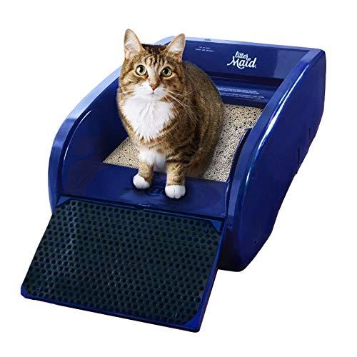 【全自動猫トイレ】リッターメイド 全自動猫トイレ レギュラー Ver.3.2 活性炭フィルター消臭 67×41×25cm