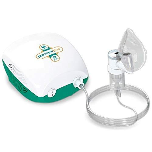 Inalador/Nebulizador Mecânico Jato de Ar Pulmonar Plus Ng, Soniclear, Verde/Branco