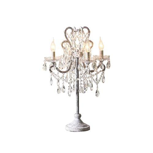 SPNEC Lámpara de Mesa, de Cristal de Estilo País de América del Norte 5-Light iluminación de la lámpara de la lámpara Colgante de Metal