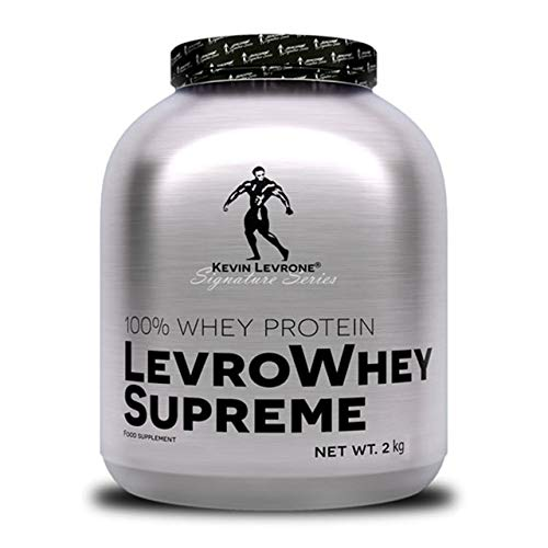 Kevin Levrone Whey Supreme Package of 1 x 2000g - Whey Protein Concentrate – Protein Powder – Muscle Building Supplement for Athletes – Amino Acid - BCAA (Vanilla)