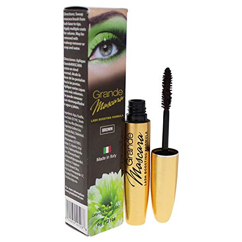 Grande Cosmetics GrandeMASCARA Conditioning Peptide Mascara, Brown