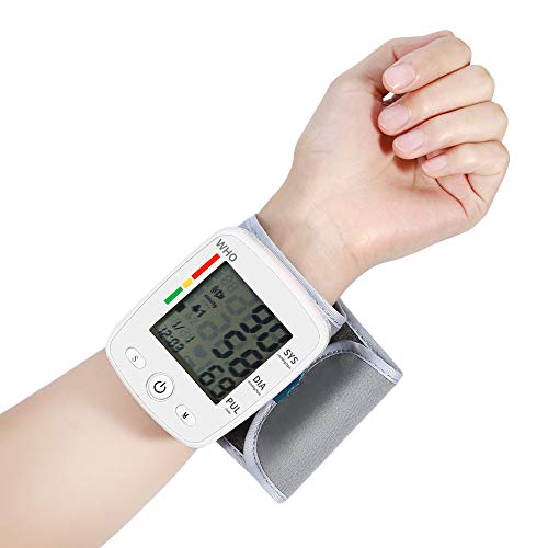 CK-W355 Wrist Blood Pressure Monitor Tonometer LCD Digital Display Automatic Blood Pressure Meter...