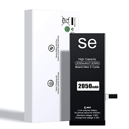Batterie pour iPhone Se, EMNT 2050mAh Li-ION Remplacement Batterie pour iPhone Se avec Complet kit d'Outils de réparation et Instructions