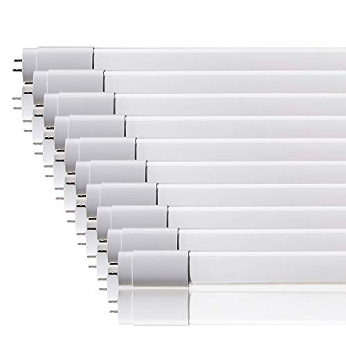 Conjunto de 10- ZoneLED SET - 120cm Tubos de LED - T8 G13-18W (36W sustituye tubo de gas) - luz blanca natural 4500K - 1600 lm - Ángulo de haz 160°