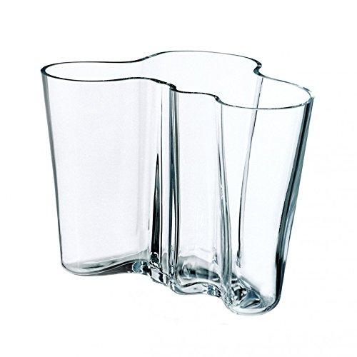 Iittala Alvar Aalto Collection - Vase - 95 mm - Klar
