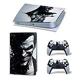 LUONE Pegatina de la Piel de Joker Payown para PS5, edición Digital Cubierta de Vinilo para Playstation 5 Película Protectora de Consola y Controlador para PS5,7180