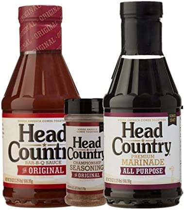 Head Country Original BBQ Sauce All Purpose Premium Marinade and Original Championship Seasoning product image