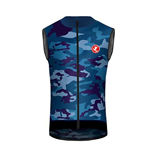 Uglyfrog Maillot Ciclismo Hombre,Camiseta Sin Mangas Top Bicicleta Chalecos Verano de Ciclistas...