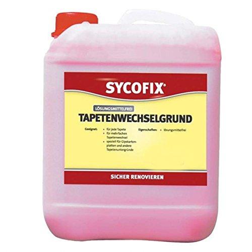 SYCOFIX Tapetenwechselgrund LF (5 Liter), Grundpreis 4,79 Euro/Liter