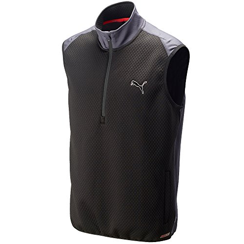 Best Review Of PUMA Golf Men's PWRWARM 1/4 Zip Vest