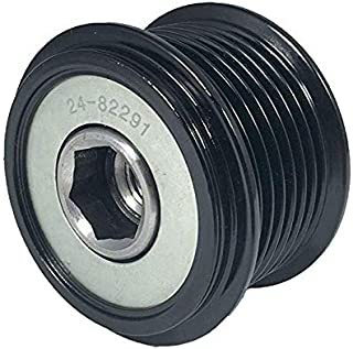 """New Pulley, Compatible with 7-Grooves, Decoupler, 0.67"""" / 17mm ID, 2.32"""" / 59mm OD, Denso / 27415-0W040A/B/C, 27415-0W040-A, 27415-0W040-C, 27415-0W040-B, 27415-0W041, 021040-1550 / RCP-5502, 24-82291"""