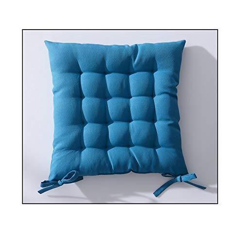 Today 261205 Assise Matelassée Polyester Mer du Sud/Bleu 40 x 40 cm
