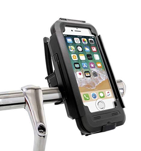 MyGadget Fahrradhalterung Wasserdicht für Apple iPhone 6s / 6 mit Touch ID - Lenker Hülle Case Handyhalterung für Fahrrad o. Motorrad GPS Navigation