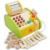 LYHLYH Simuliertes Supermarkt-Registrierkasse, Supermarkt-Registrierkasse Spielzeug, Frühkasse...