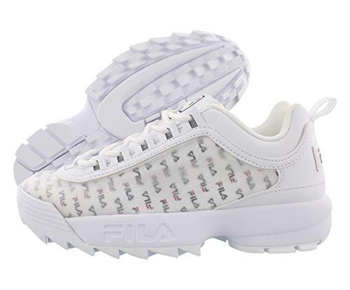 Fila Damen-Sneaker Disruptor II, Weiá (Weiß/Marineblau), 37.5 EU