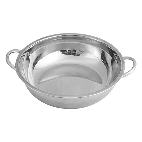 induction cooking pots Hot Pot Induction Cooker Stainless Steel Anti Rust Home Kitchen Cookware Soup Cooking Pots for Induction Cooker Gas Furnace Electric Furnace