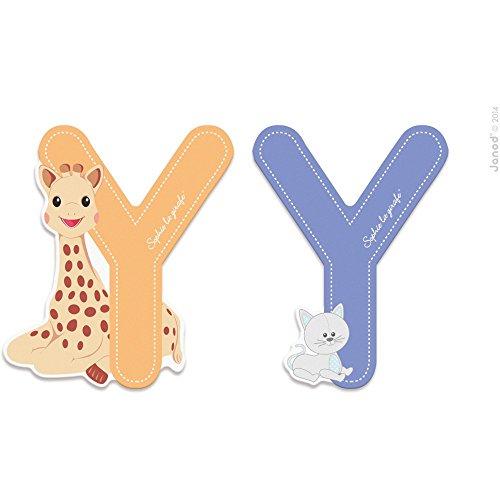 Janod letra Serie Sophie LA Girafe - Bois - Y - J09569, multicolore - 1 - version espagnole