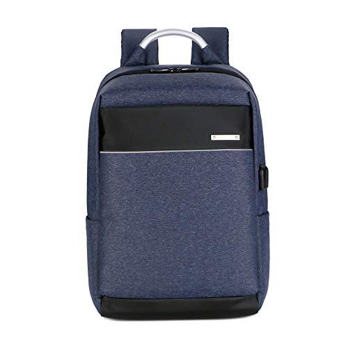 NA Business Computer Backpack Men Backpack Fashion Casual Travel Backpack,Blue