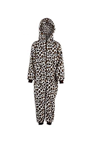 Camille Conjuntos de Pijama para niños con Estampado Divertido de Varios Estilos 15-16 años Brown Snow Leopard