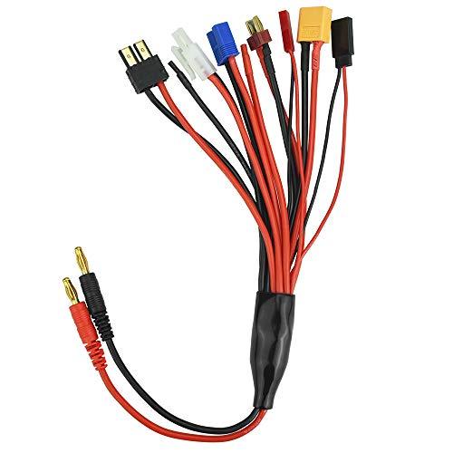 FAVENGO 8 en 1 Adaptador del Cargador Cable RC Adaptador RC de...