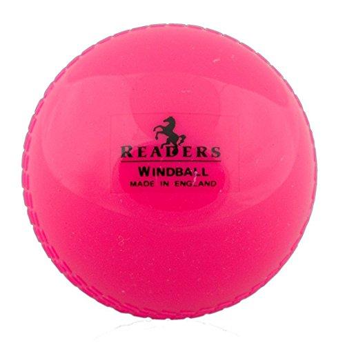 Readers Windball Trainings-Cricketball Rosa rose Für Jugendliche