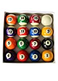 JT2D - Juego de 16 bolas de billar estadounidenses de resina (57 mm), 15...