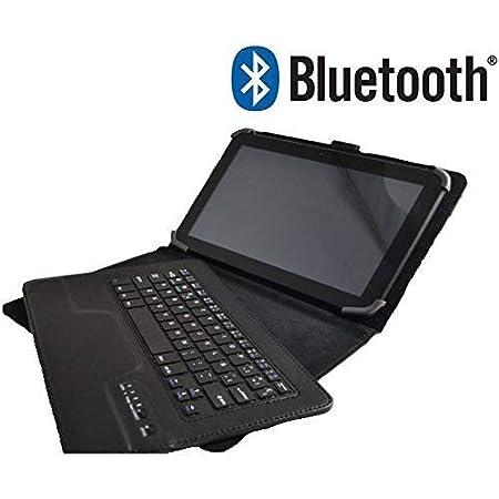 Theoutlettablet® Funda con Teclado Bluetooth Extraíble para ...