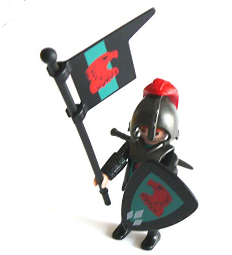 Playmobil ® Adler Ritter - mit Fahne Schild und Schwert