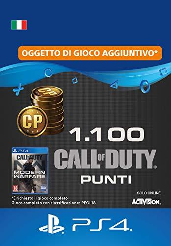 Call of Duty : Modern Warfare 1100 Points | Codice download per PS4 - Account italiano