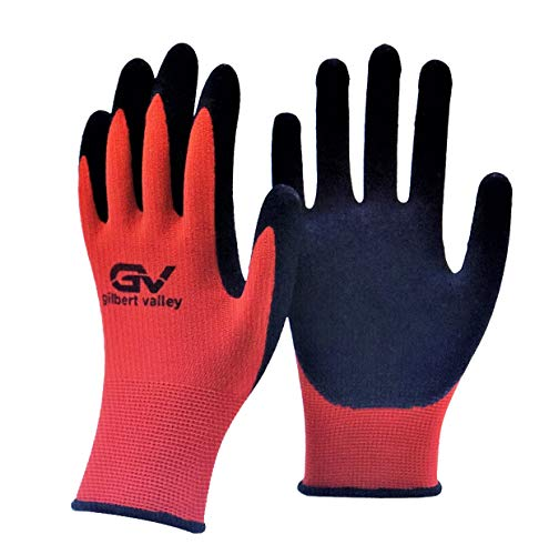 Gilbert Valley Super Durable Working Gloves for Gardening, Yard Work, Farming, Ranching, Automotive, Industrial, Construction, Restoration Work and More. For Men and Women. Sizes S,M,L,XL (1 Pack-S)