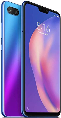 "Xiaomi Mi 8 Lite - Smartphone (15,9 cm (6.26""), 2280 x 1080 Pixeles, 4 GB, 64 GB, 12 MP, Azul)"