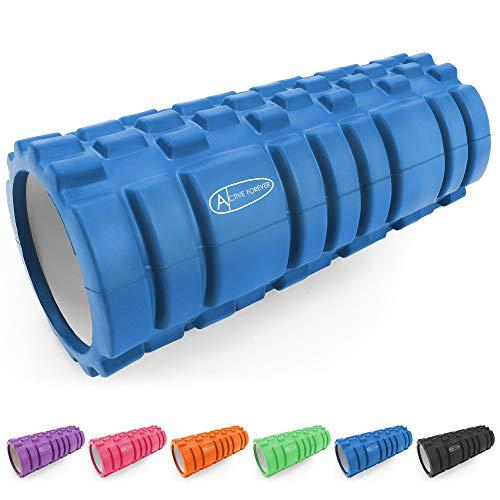 ActiveForever Rodillos de Espuma EVA,Rodillo de Espuma,para Rodillos de Masaje de Tejido Profundo,Seis Colores para La Selección (Azul)