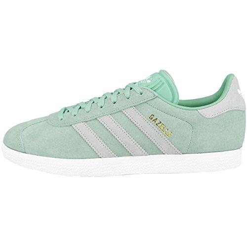 Adidas Gazelle W, Zapatillas de Deporte Mujer, Verde (Vercen/Ftwbla/Tinazu 000), 36 2/3 EU